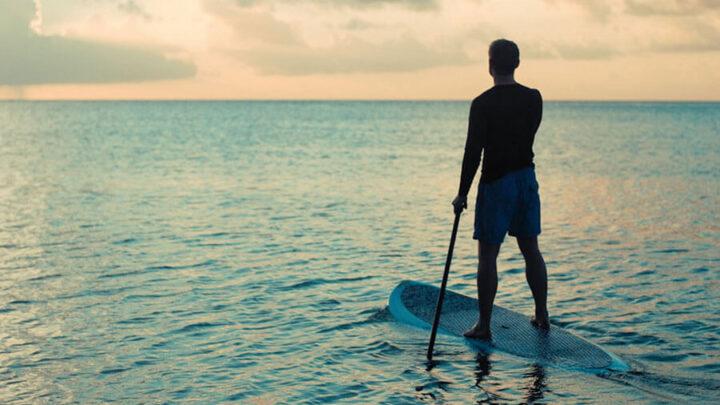 waterproof headphones for board paddling