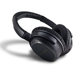 Golzer BANC-50 black wireless noise cancelling headphones