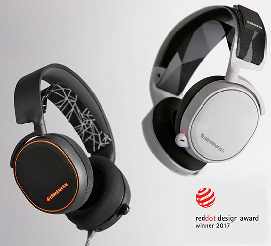 Arctis 7 red dot design award
