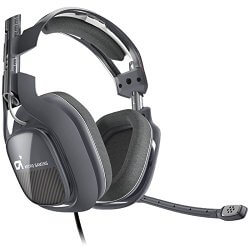 Astro Gaming A40 grey gaming headset