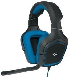 Logitech G430 gaming wired headset