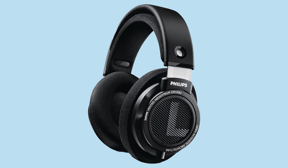 Philips SHP9500 black headphones