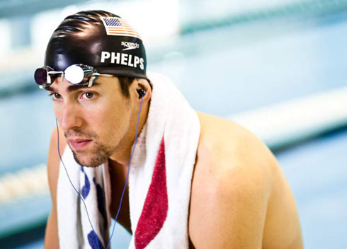 Michael Phelps H2O Audio Swimming Headphones