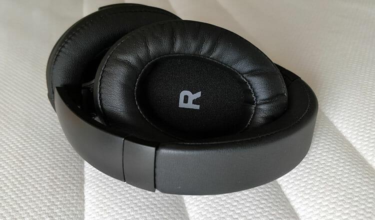 TaoTronics TT-BH22 ANC headphones folded