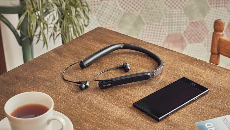 Sony WI-1000X neckband in-ear headphones