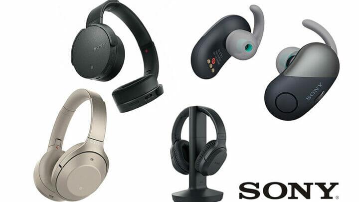 Sony headphones featured