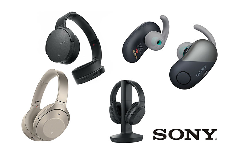 Sony headphones featured