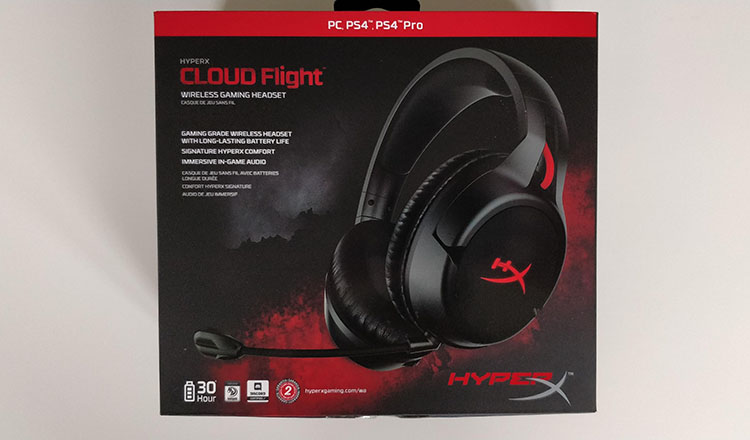 HyperX Cloud Flight box
