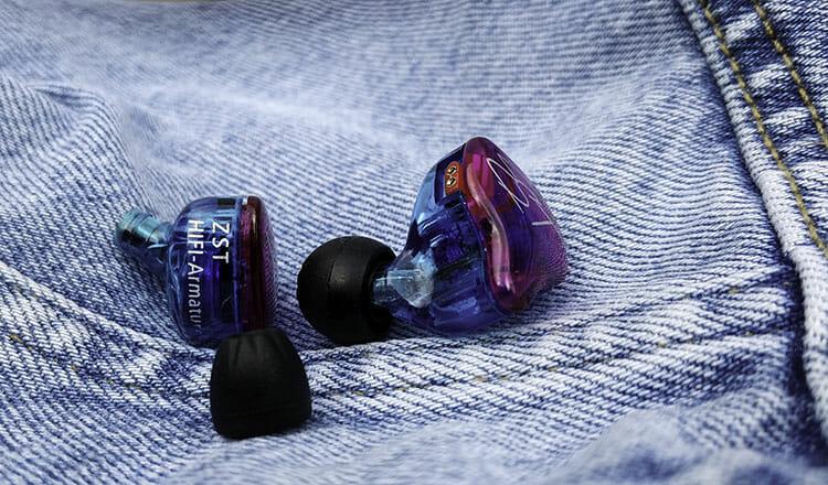 KZ ZST earbuds