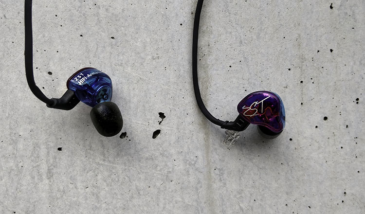 KZ ZST in-ear monitors