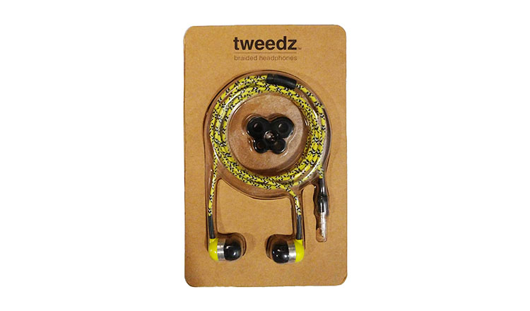 Tweedz earbuds package