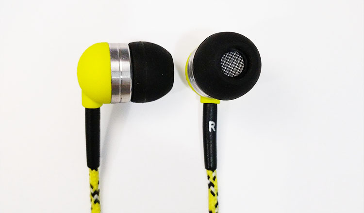 Tweedz earbuds sides