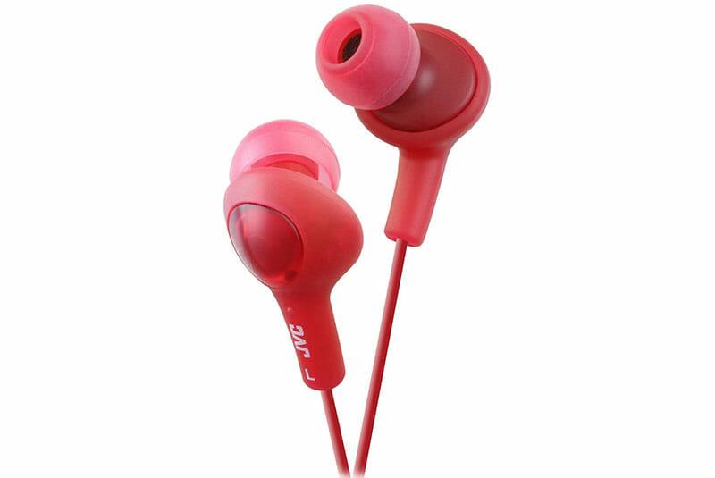 JVC HA-FX5 Gumy Plus red