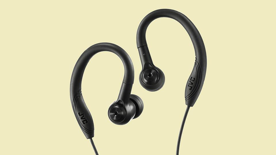 JVC HA-EC10-B wired earbuds