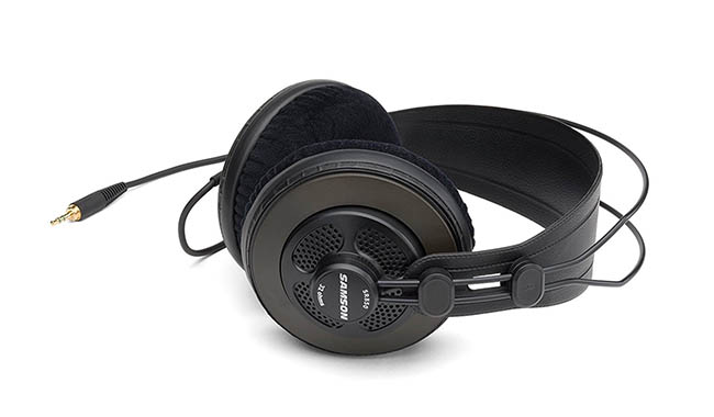 Samson SR850 open-back headphones