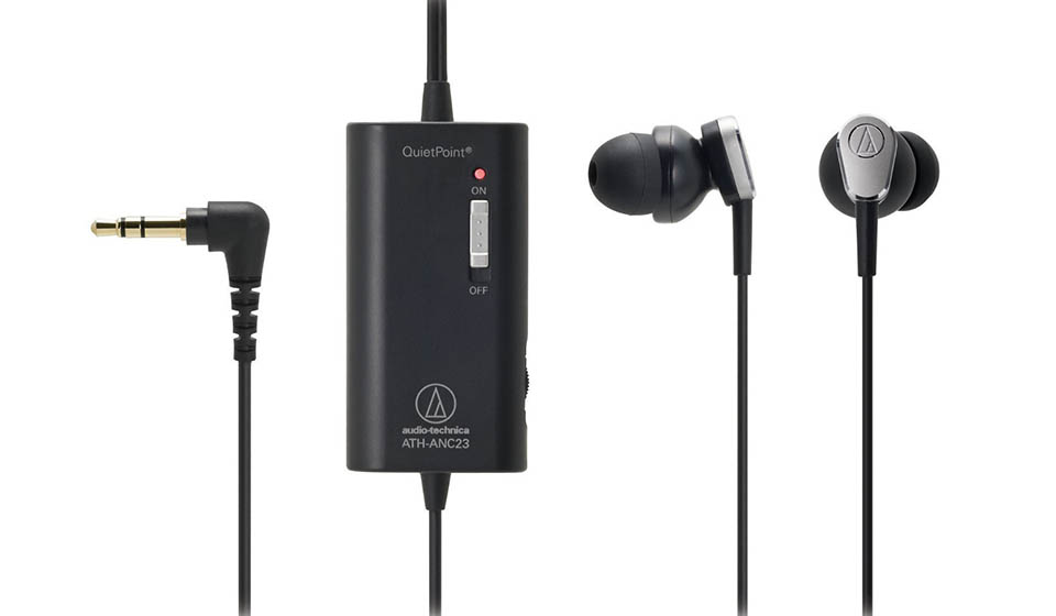 Audio-Technica ATH-ANC23 QuietPoint