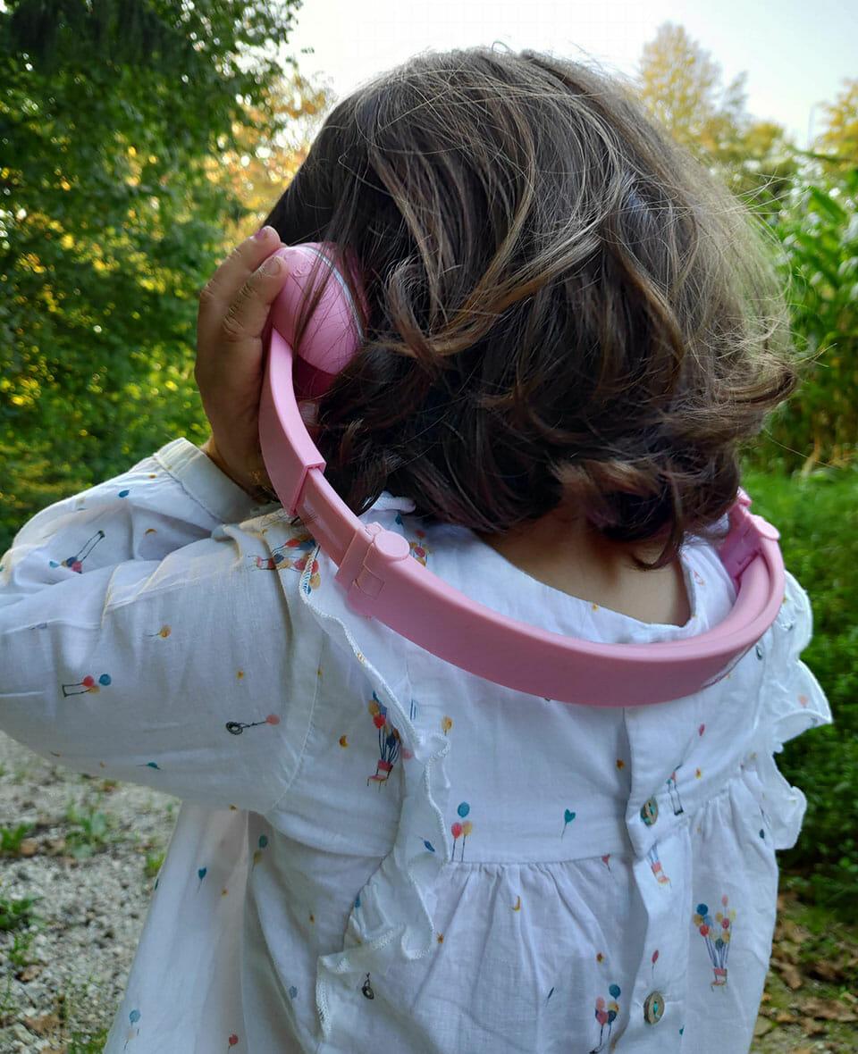 BuddyPhones Play extended headband