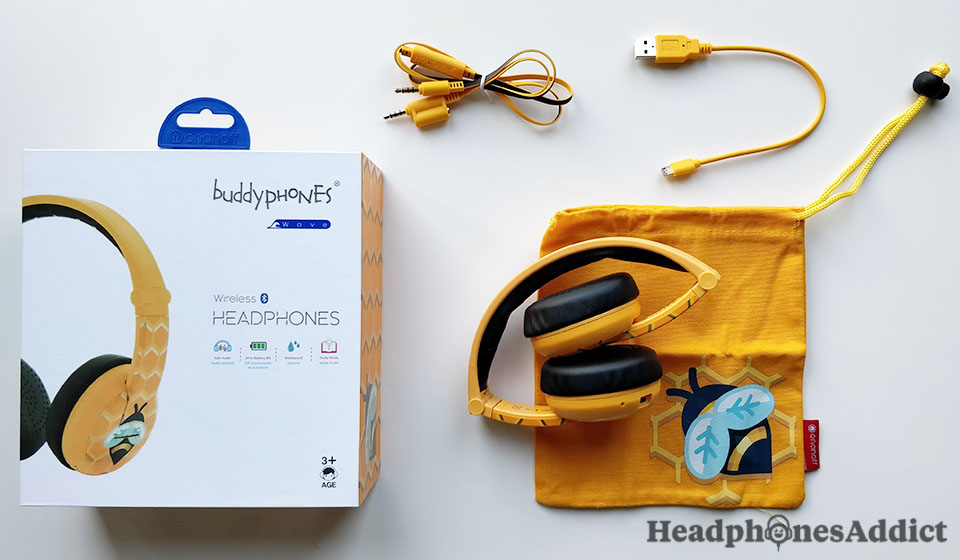 BuddyPhones Wave unboxed