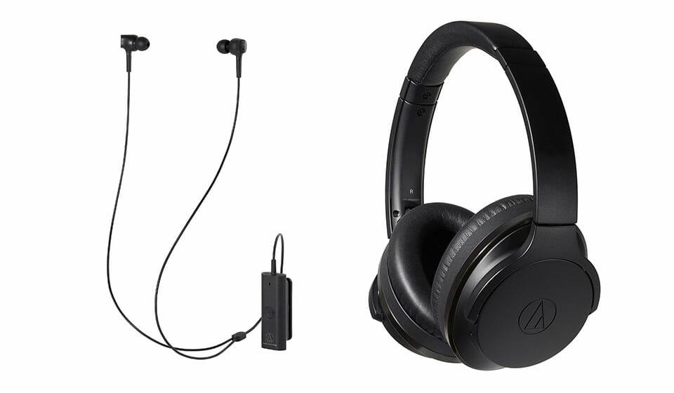 Audio-Technica ATH-ANC900BT and ATH-ANC100BT