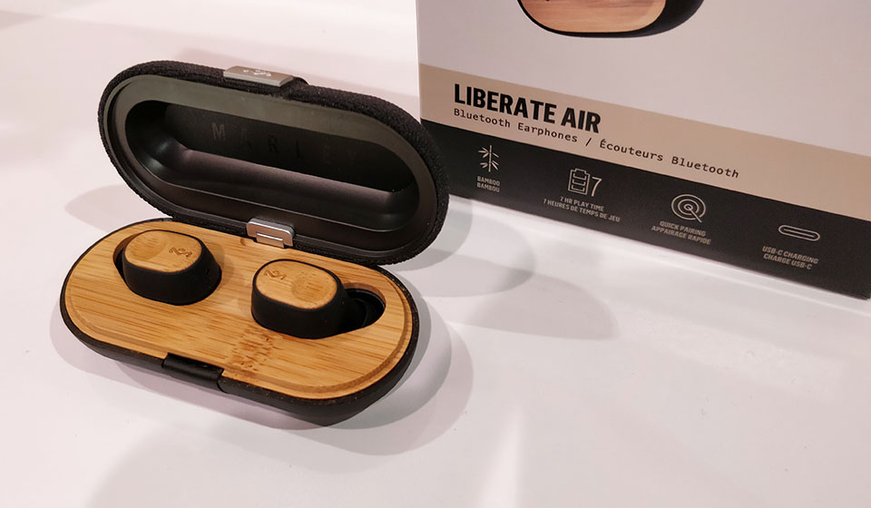 House of Marley Liberate Air CES2019