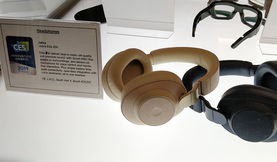 Jabra Elite 85H with adaptive sound mode at CES2019