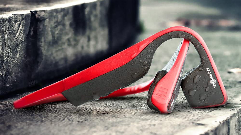 AfterShokz Titanium bone conduction headphones