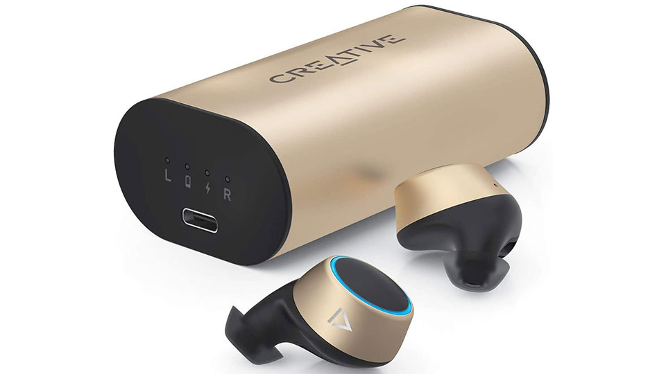 Creative Outlier Gold wireless earbuds