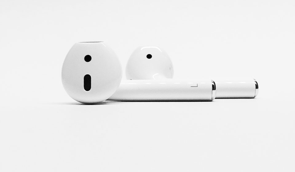 Apple AirPods true wireless headphones