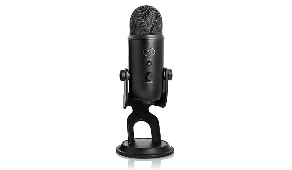 Blue Yeti - Black streaming microphone