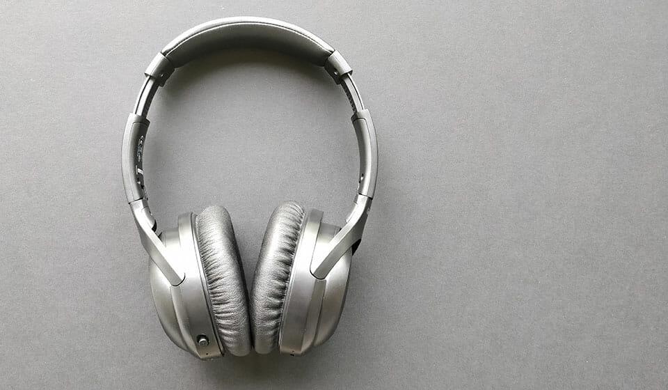 iTeknic ANC headphones extended headband