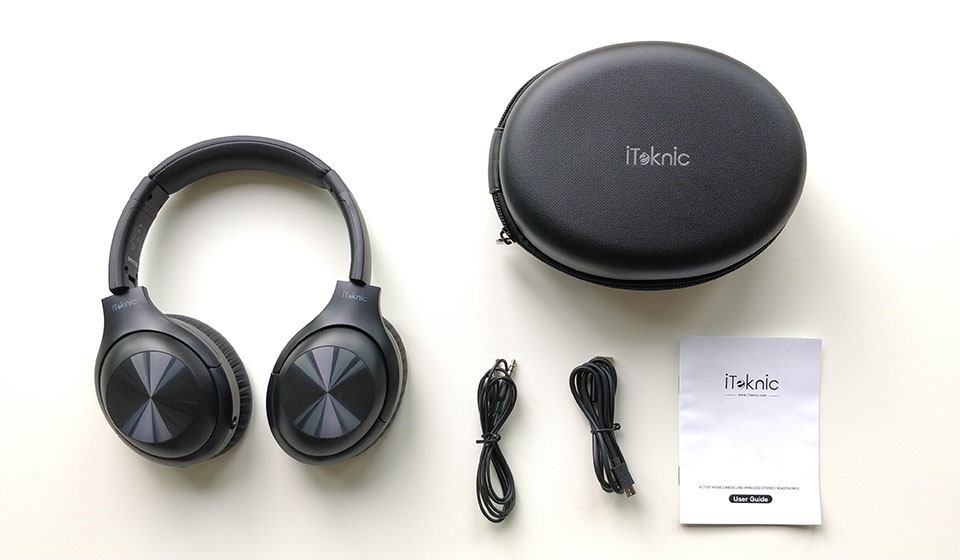 iTeknic ANC headphones unboxed