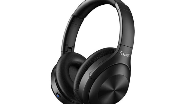 iTeknic IK-BH002 ANC black headphones