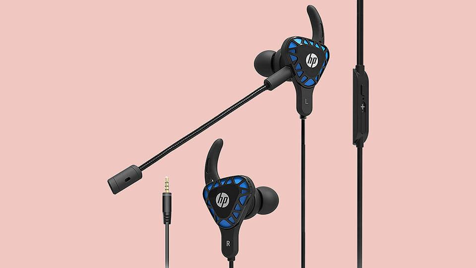 HP H150 gaming earbuds