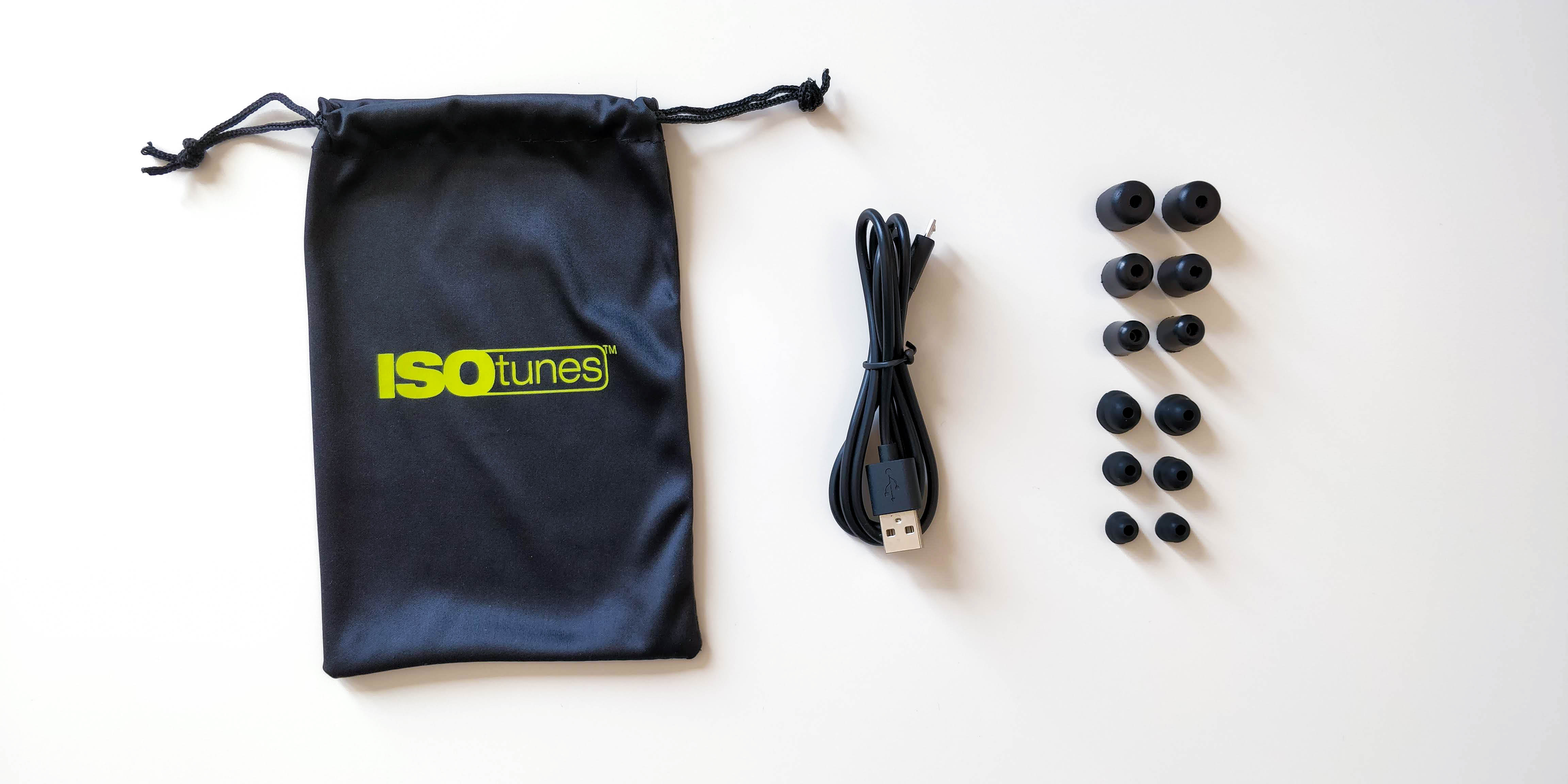 ISOtunes Xtra accessories