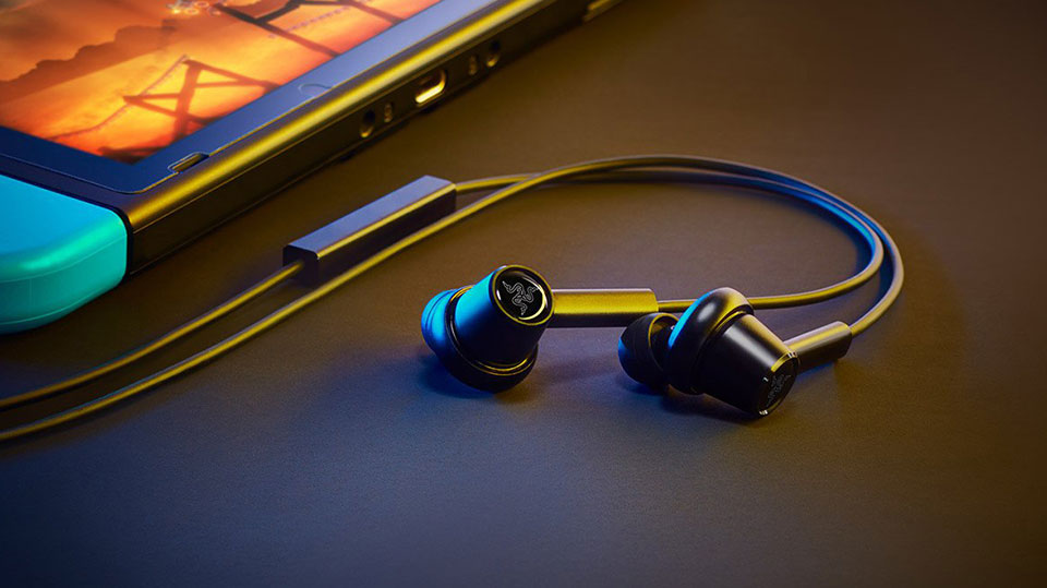 Razer Hammerhead Duo Wired gaming earbuds