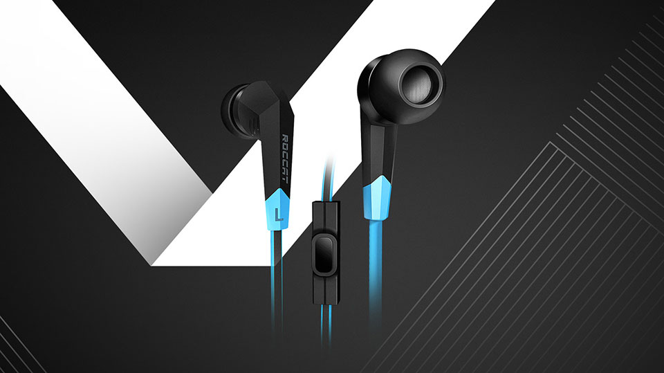 Roccat SYVA wired gaming earbuds