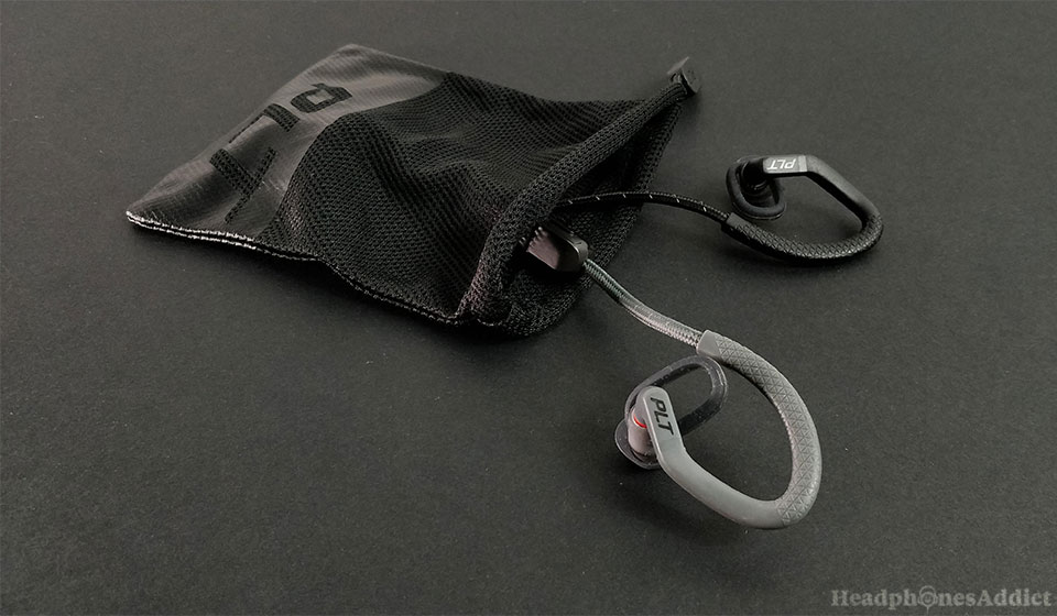 Plantronics BackBeat FIT 350 in a bag