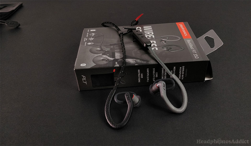 Plantronics BackBeat FIT 350 wireless sports headphones