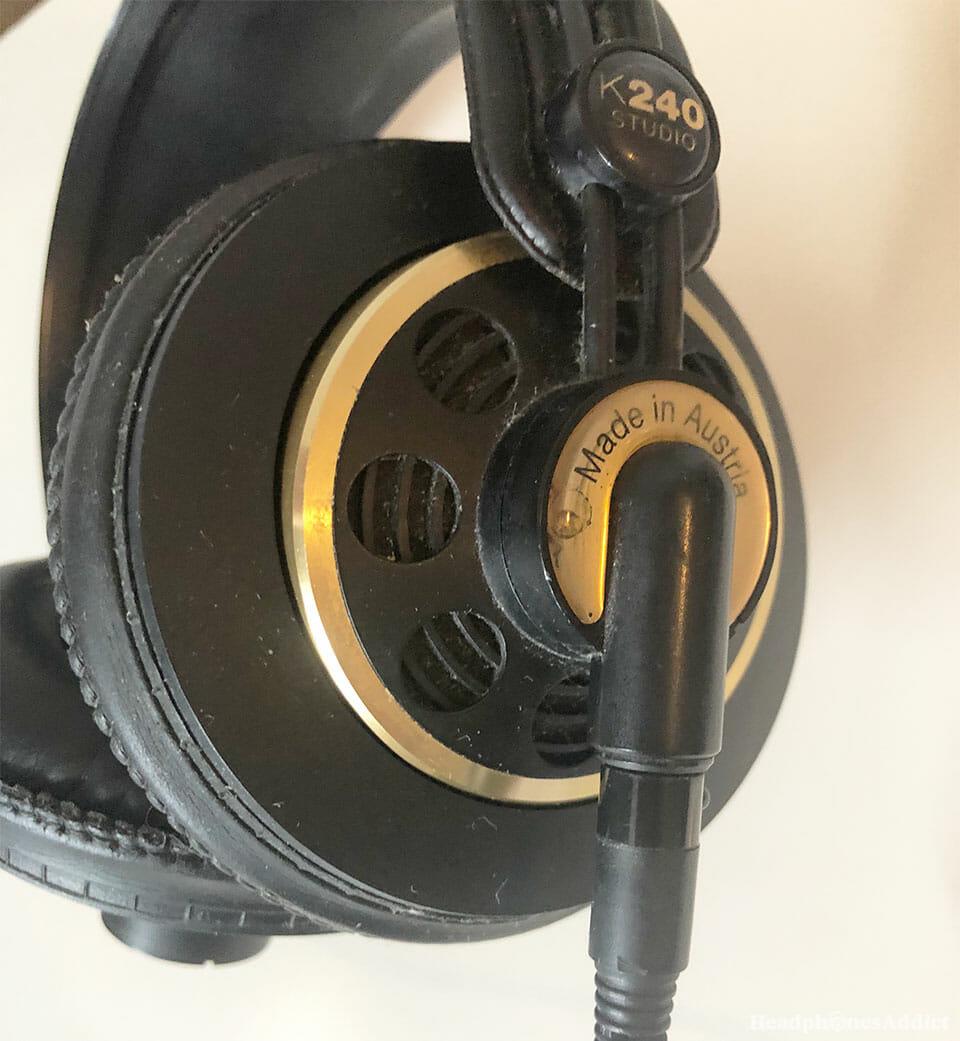 AKG-K240 earcups