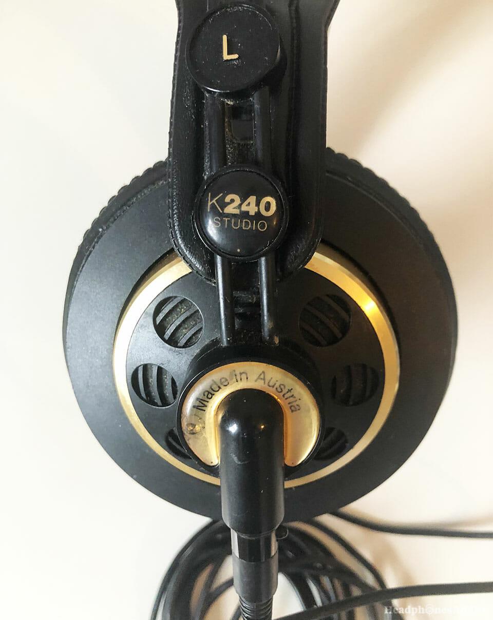 AKG K240 over-ear headphones