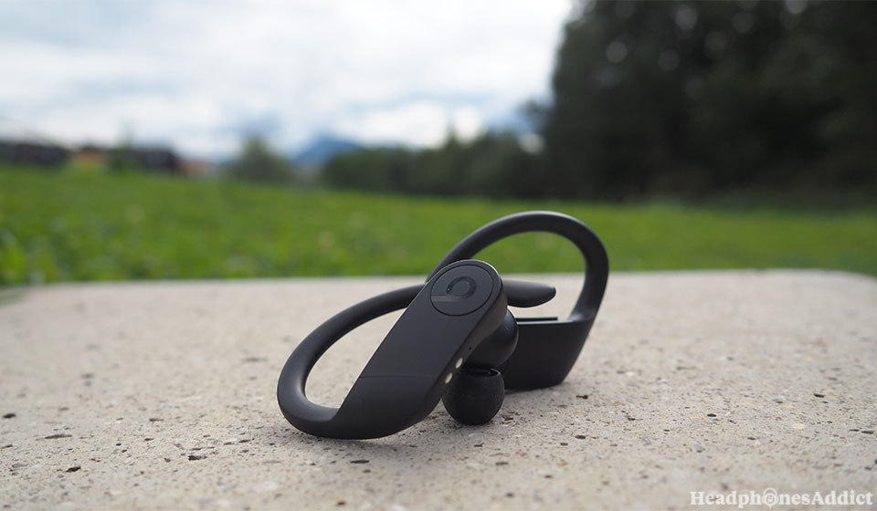 Beats PowerBeats Pro outside
