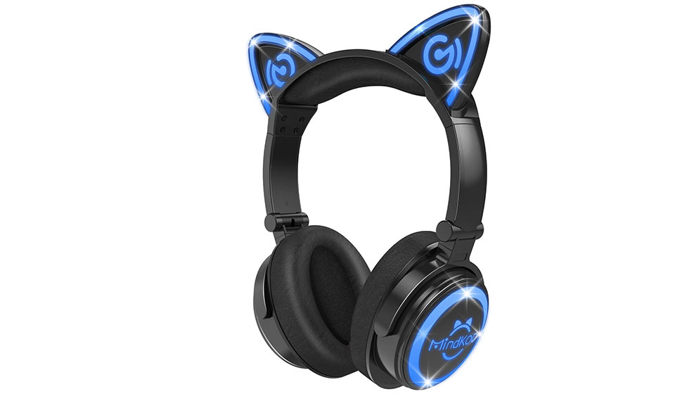 MindKoo Bluetooth Cat Ear Headphones