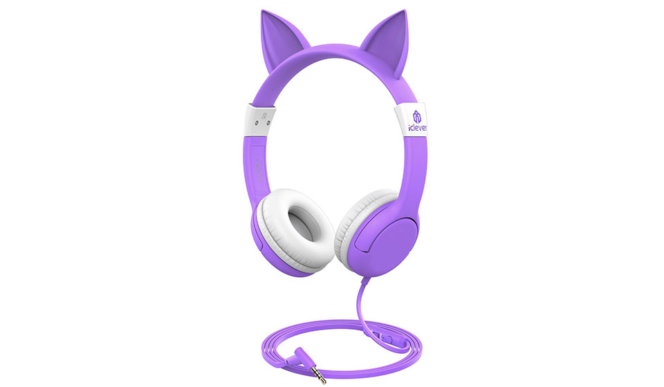iClever Boostcare Cat Ear Kids Headphones