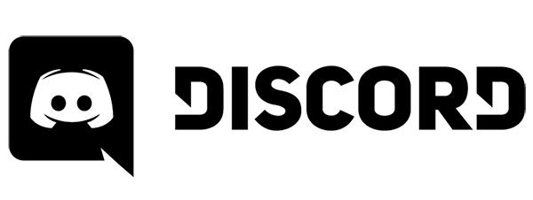 Discord black logo