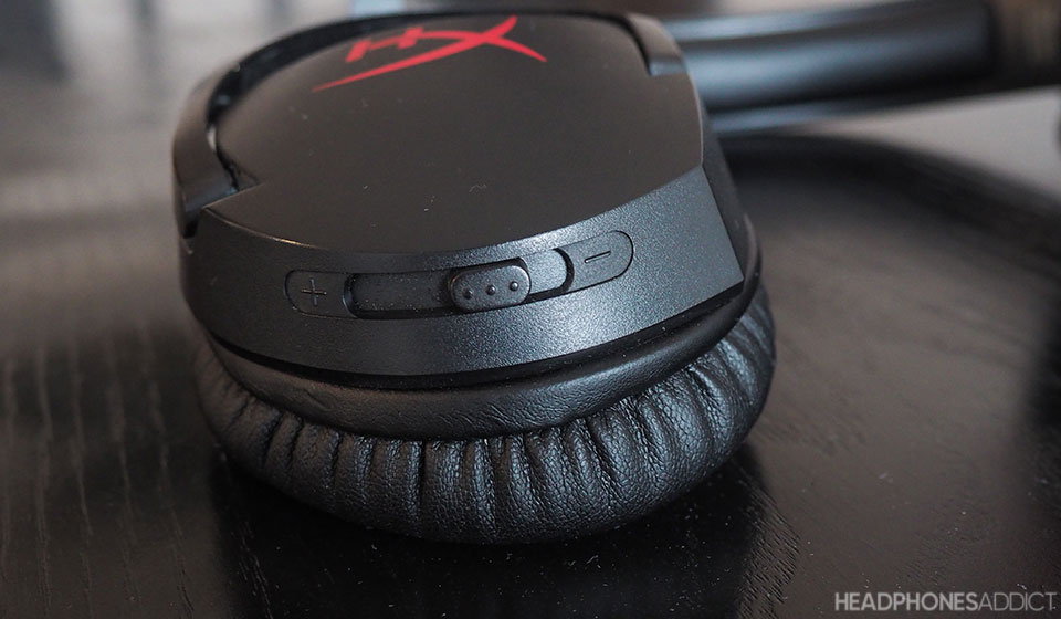 HyperX Cloud Stinger volume slider