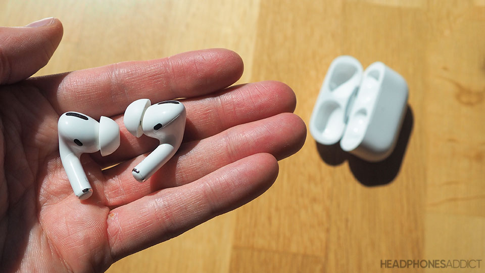 Apple AirPods Pro out of the box