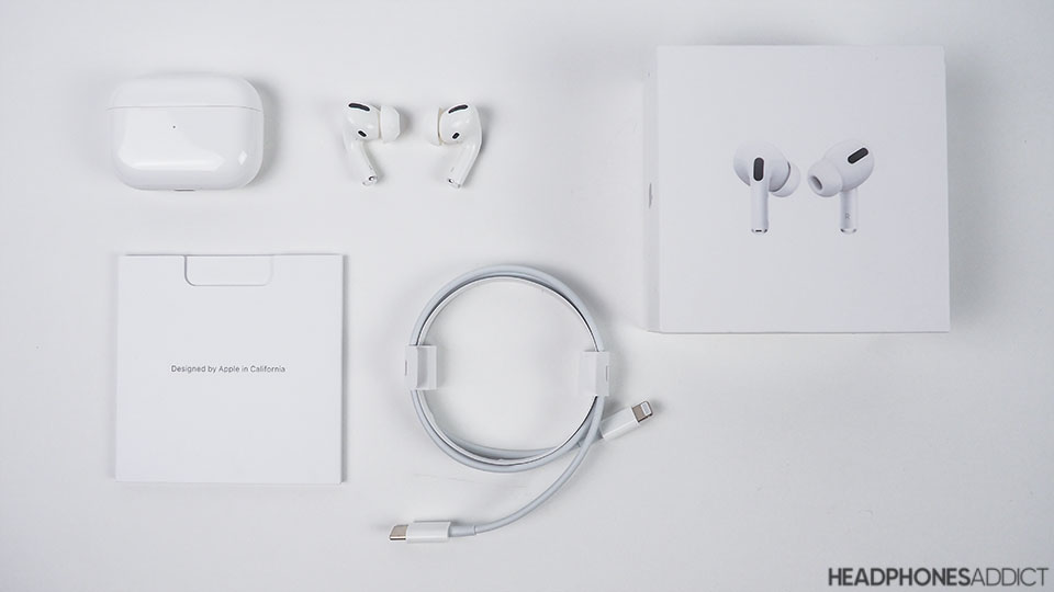 Apple AirPods Pro unboxed