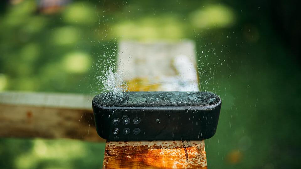 Bluetooth speaker rumbling