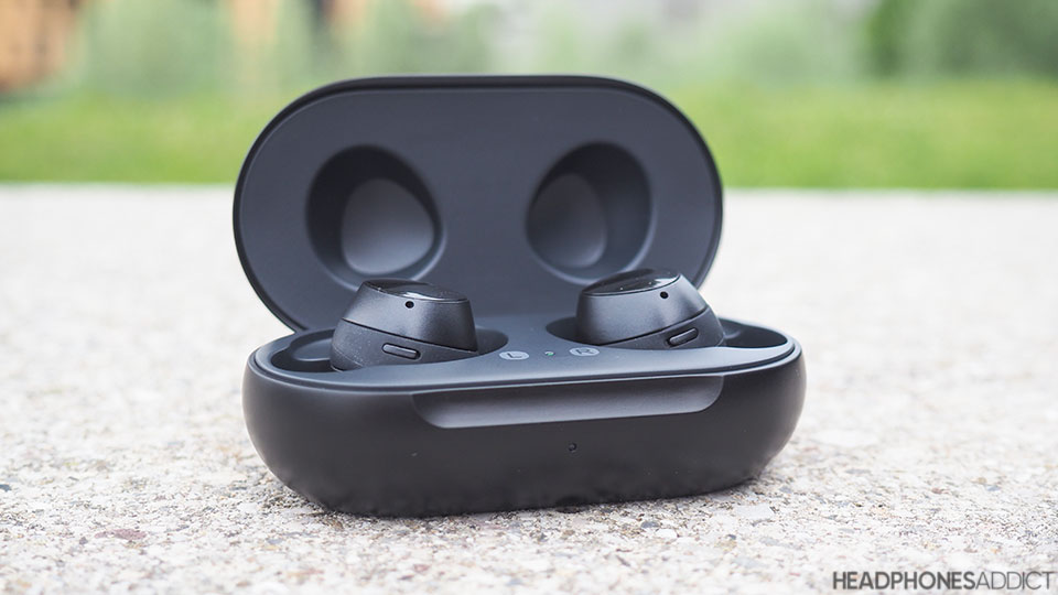 Samsung Galaxy Buds+ in open case