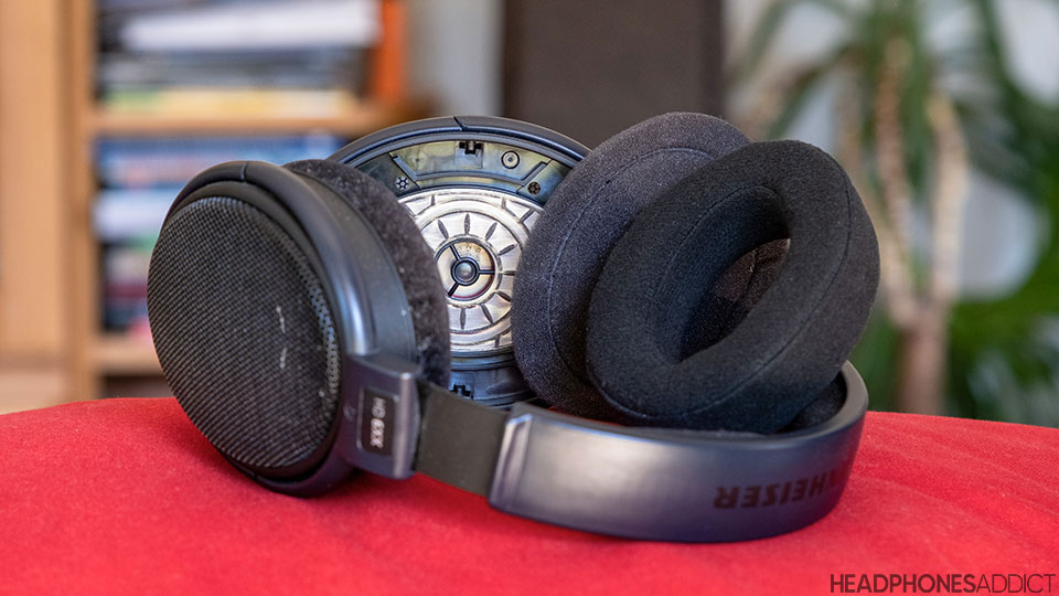 Sennheiser HD 6xx changing earpads